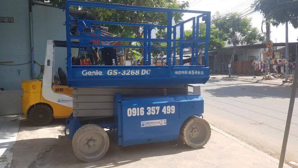 Cho thuê xe nâng người – 0916357499