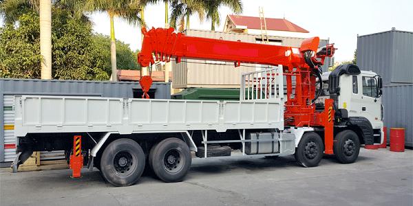 Cho thuê xe cẩu thùng 2,5 tấn đến 15 tấn